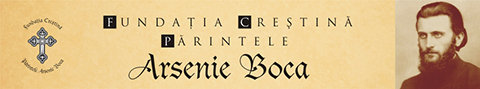 Fundatia Crestina Parintele Arsenie Boca